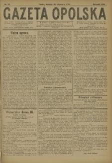 Gazeta Opolska, 1920, R. 30 [właśc. 31], nr 19