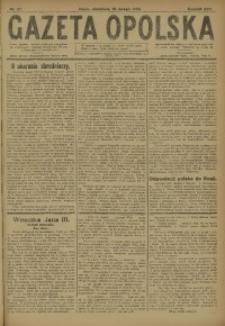 Gazeta Opolska, 1920, R. 30 [właśc. 31], nr 37
