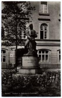 Ratibor. Freiherr v. Eichendorff-Denkmal