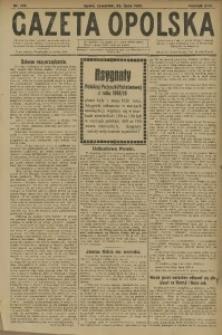 Gazeta Opolska, 1920, R. 30 [właśc. 31], nr 172