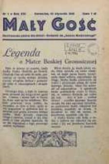 Mały Gość Niedzielny, 1946, R. 16, nr 1