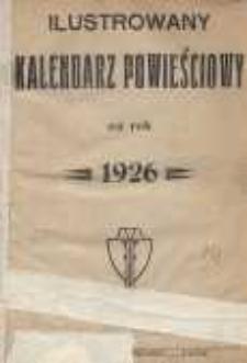 Ilustrowany Kalendarz Powieściowy na rok 1926