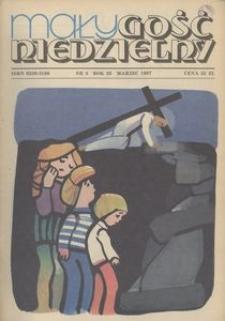 Mały Gość Niedzielny, 1987, R. 33, nr 3