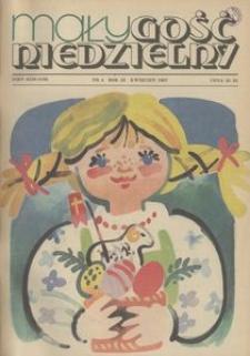 Mały Gość Niedzielny, 1987, R. 33, nr 4