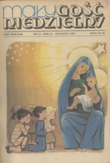 Mały Gość Niedzielny, 1987, R. 33, nr 12