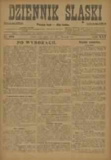 Dziennik Śląski, 1922, R. 25, nr 270