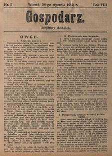 Gospodarz, 1912, nr5