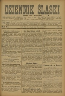 Dziennik Śląski, 1917, R. 20, nr 71