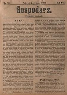 Gospodarz, 1912, nr18