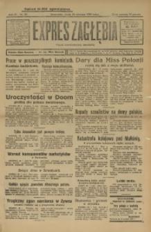 Expres Zagłębia. Organ Demokratyczny Niezależny, 1929, R. 4, nr 30