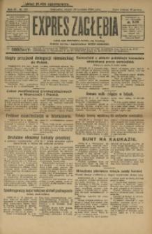 Expres Zagłębia. Organ Demokratyczny Niezależny, 1929, R. 4, nr 115