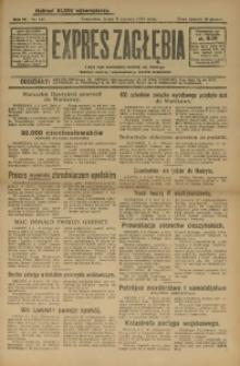 Expres Zagłębia. Organ Demokratyczny Niezależny, 1929, R. 4, nr 147