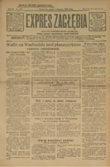 Expres Zagłębia. Jedyny organ demokratyczny woj. kieleckiego, 1929, R. 4, Nr. 201