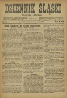 Dziennik Śląski, 1921, R. 24, nr 2