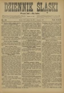 Dziennik Śląski, 1921, R. 24, nr 23