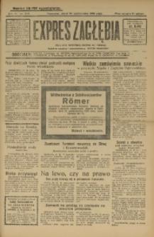 Expres Zagłębia. Jedyny organ demokratyczny woj. kieleckiego, 1929, R. 4, Nr. 279
