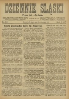 Dziennik Śląski, 1921, R. 24, nr 95