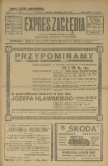 Expres Zagłębia. Jedyny organ demokratyczny woj. kieleckiego, 1929, R. 4, Nr. 294