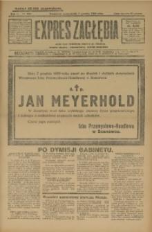 Expres Zagłębia. Jedyny organ demokratyczny woj. kieleckiego, 1929, R. 4, Nr. 323