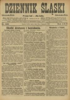 Dziennik Śląski, 1921, R. 24, nr 269