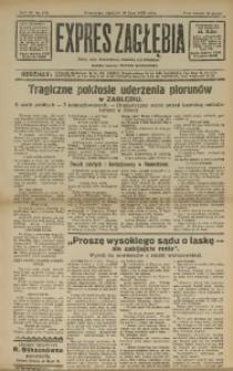 Expres Zagłębia. Jedyny organ demokratyczny niezależny woj. kieleckiego, 1932, R. 7, Nr. 188