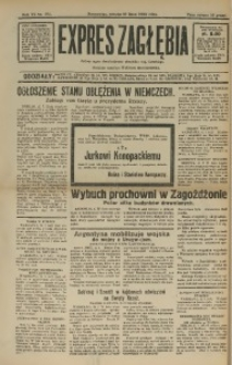 Expres Zagłębia. Jedyny organ demokratyczny niezależny woj. kieleckiego, 1932, R. 7, Nr. 194