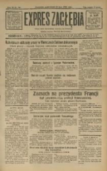 Expres Zagłębia. Jedyny organ demokratyczny niezależny woj. kieleckiego, 1932, R. 7, Nr. 196