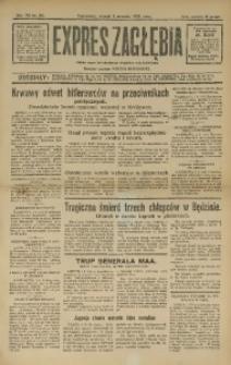 Expres Zagłębia. Jedyny organ demokratyczny niezależny woj. kieleckiego, 1932, R. 7, Nr. 211