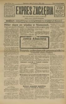 Expres Zagłębia. Jedyny organ demokratyczny niezależny woj. kieleckiego, 1932, R. 7, Nr. 214