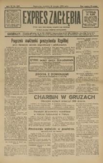 Expres Zagłębia. Jedyny organ demokratyczny niezależny woj. kieleckiego, 1932, R. 7, Nr. 229