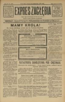 Expres Zagłębia. Jedyny organ demokratyczny niezależny woj. kieleckiego, 1932, R. 7, Nr. 290