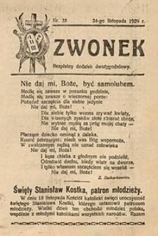 Dzwonek, 1929, [R. 27], nr25