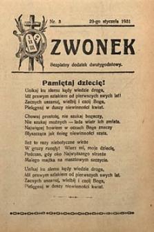 Dzwonek, 1931, [R. 29], nr3