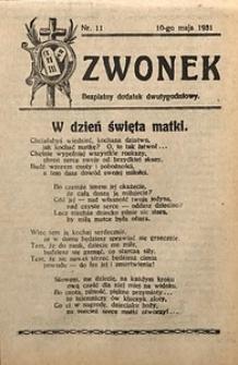 Dzwonek, 1931, [R. 29], nr11