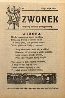 Dzwonek, 1931, [R. 29], nr12
