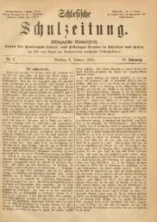 Schlesische Schulzeitung, 1886, Jg. 15, Nr. 1