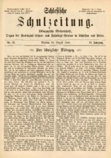 Schlesische Schulzeitung, 1886, Jg. 15, Nr. 34