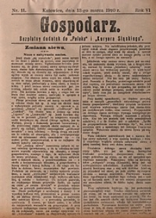 Gospodarz, 1910, nr11