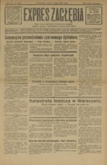 Expres Zagłębia. Jedyny organ demokratyczny niezależny woj. kieleckiego, 1931, R. 6, Nr. 182