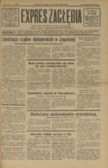 Expres Zagłębia. Jedyny organ demokratyczny niezależny woj. kieleckiego, 1931, R. 6, Nr. 240