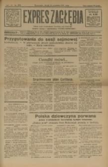 Expres Zagłębia. Jedyny organ demokratyczny niezależny woj. kieleckiego, 1931, R. 6, Nr. 252