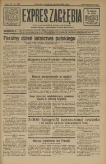 Expres Zagłębia. Jedyny organ demokratyczny niezależny woj. kieleckiego, 1931, R. 6, Nr. 255