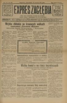 Expres Zagłębia. Jedyny organ demokratyczny niezależny woj. kieleckiego, 1931, R. 6, Nr. 257