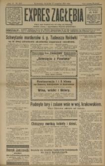 Expres Zagłębia. Jedyny organ demokratyczny niezależny woj. kieleckiego, 1931, R. 6, Nr. 263