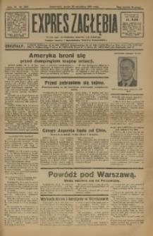 Expres Zagłębia. Jedyny organ demokratyczny niezależny woj. kieleckiego, 1931, R. 6, Nr. 266