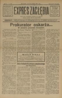 Expres Zagłębia. Jedyny organ demokratyczny niezależny woj. kieleckiego, 1931, R. 6, Nr. 343