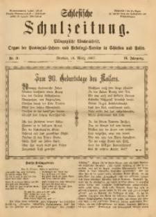 Schlesische Schulzeitung, 1887, Jg. 16, Nr. 11