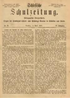 Schlesische Schulzeitung, 1887, Jg. 16, Nr. 15