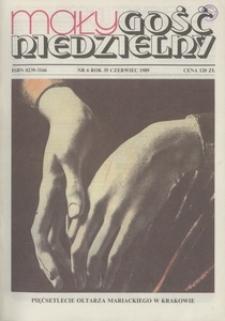 Mały Gość Niedzielny, 1989, R. 35, nr 6