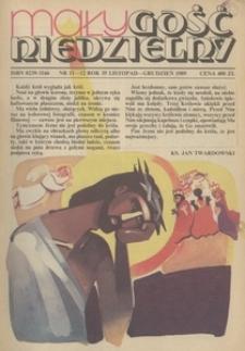 Mały Gość Niedzielny, 1989, R. 35, nr 11/12